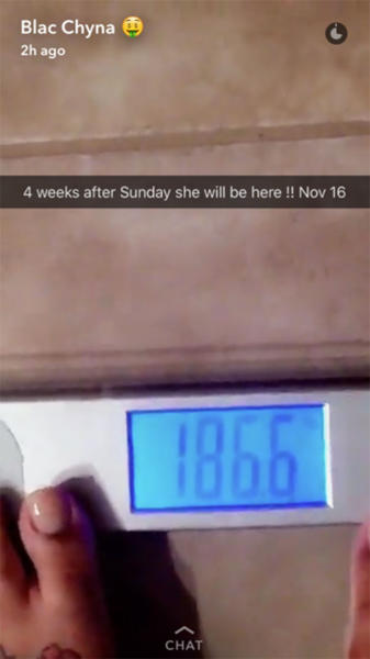 Blac Chyna Weight