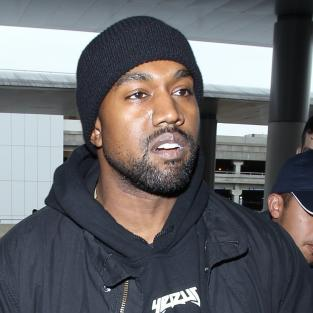Kanye West in LAX