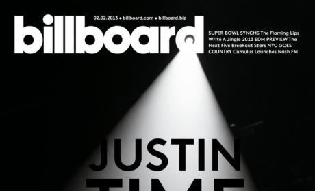 Justin Bieber Billboard Cover