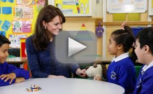 Kate Middleton Launches Children's Mental Health Week, Speaks Candidly With Students