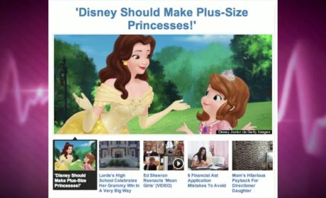 Teenager Petitions for Plus-Size Disney Princesses: Every Body is Beautiful!