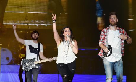 Lady Antebellum on Stage