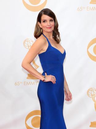 Tina Fey at the Emmys