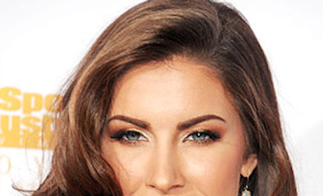Katherine Webb With Makeup