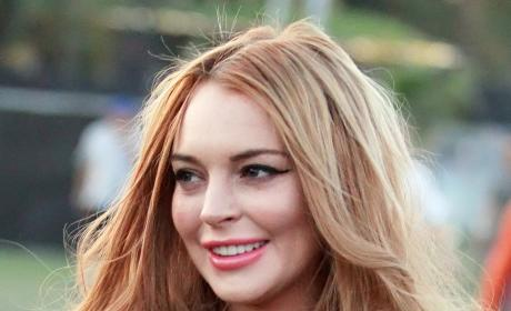 Lindsay Lohan Hospitalized After Serious Car Accident