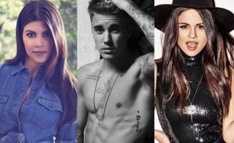 Selena Gomez: Flipping the F--k Out Over Justin Bieber Getting Kourtney Kardashian Pregnant!?
