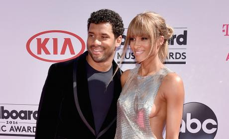 Ciara and Russell Wilson on the Red Carpet