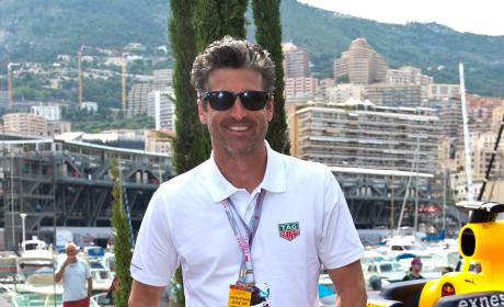 Patrick Dempsey Monte Carlo 2016