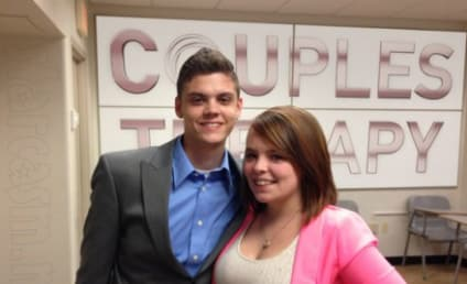 Tyler Baltierra & Daughter Visit Catelynn Lowell in Rehab