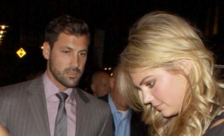 Kate Upton and Maksim Chmerkovskiy