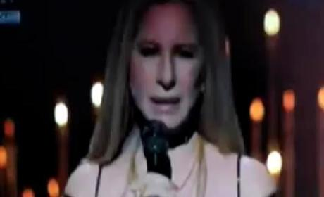 Barbra Streisand Oscars Performance Honors Marvin Hamlisch