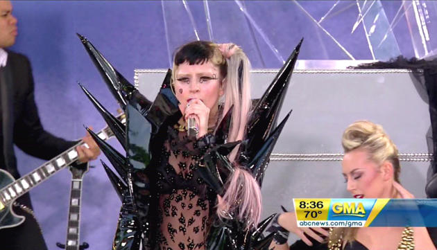 Lady Gaga on GMA