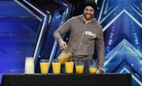 Patrick Bertoletti Drinks 120 Raw Eggs on America's Got Talent
