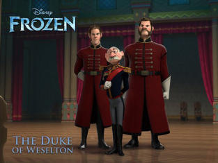 Alan Tudyk as The Duke of Weselton in Frozen