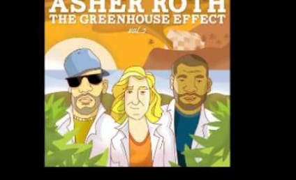"""Chris Brown and Justin Bieber: """"Actin' Up"""" on New Asher Roth Song!"""