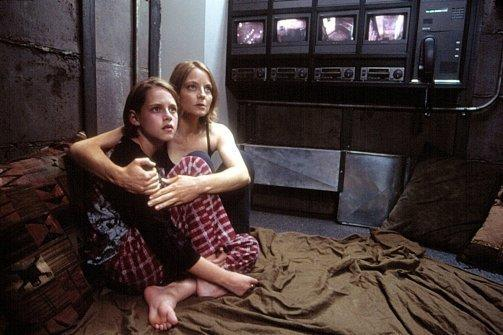 Jodie Foster and Kristen Stewart in Panic Room