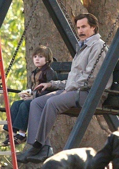 Anchorman 2 Set Photo Will Ferrell