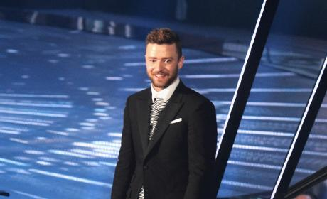 Justin Timberlake Onstage at the 2016 iHeartRadio Music Awards