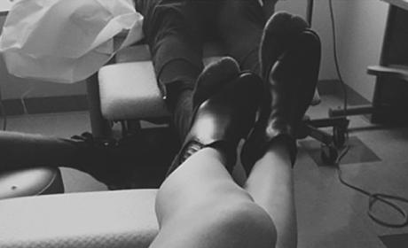 Kylie Jenner Shows Off Legs, Confirms Harry Hudson as Boyfriend?