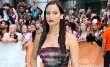 Jennifer Lawrence Goes Goth: What The... ?!