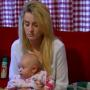 Leah Messer Falls Asleep Sitting Up, Holding Baby in Mid-Conversation on Teen Mom 2