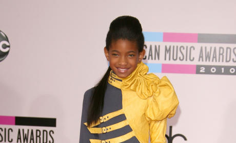 Willow Smith's outfit at the AMAs is...