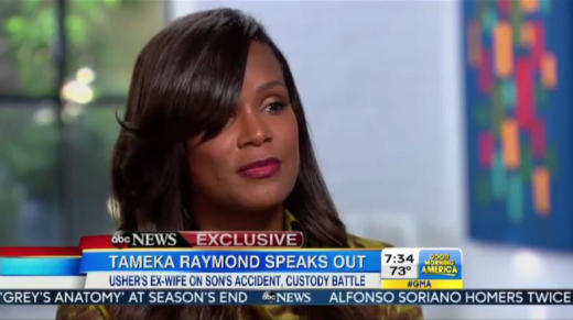 Tameka Raymond on GMA