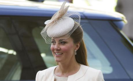 Royal Baby Watch: Kate Middleton Takes Refuge With Parents
