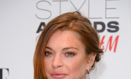 Lindsay Lohan Style Awards Photo