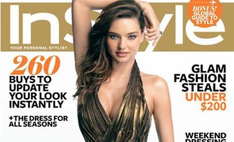 Miranda Kerr on Natural Childbirth: OWWWW!