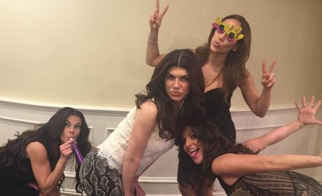 Teresa Giudice on New Year's Eve