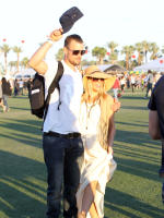 Josh Duhamel and Fergie at Coachella