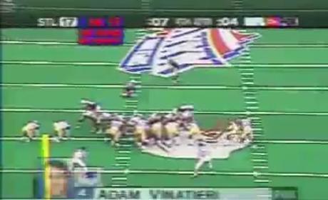 Super Bowl XXXVI - Adam Vinatieri Game-Winning FG (Patriots vs. Rams)
