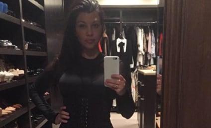Kourtney Kardashian Flaunts Tiny Waist, Is a Sell Out