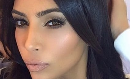 Kim Kardashian Bares All For LOVE: First Naked Look!