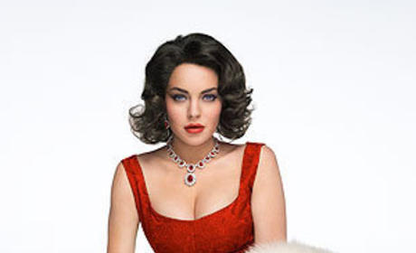 Lindsay Lohan Accused of Trashing Vintage Elizabeth Taylor Trailer