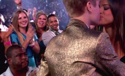 Selena Gomez Meets the Biebers