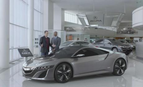 Jerry Seinfeld Stars in Acura Super Bowl Ad