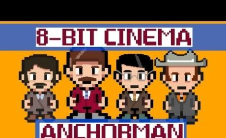 Anchorman 8-Bit: I Love Lamp Still Funny