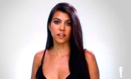 Kourtney Kardashian Has Something to Say
