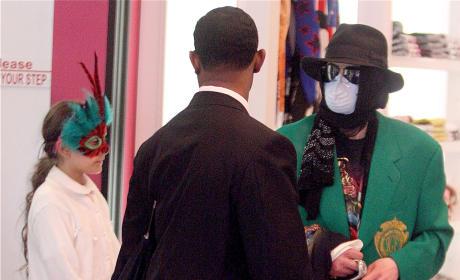 Paris Jackson on Wearing Masks as a Kid: Weird!