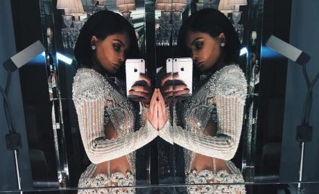 Kylie Jenner Celebrates 60 Million Instagram Followers Exactly as You'd Think She Would