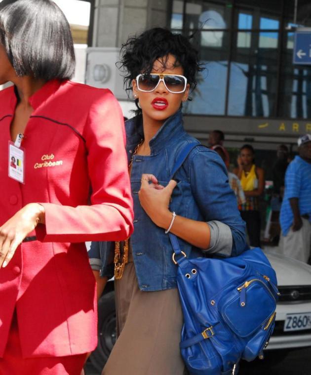 Rihanna Back Home