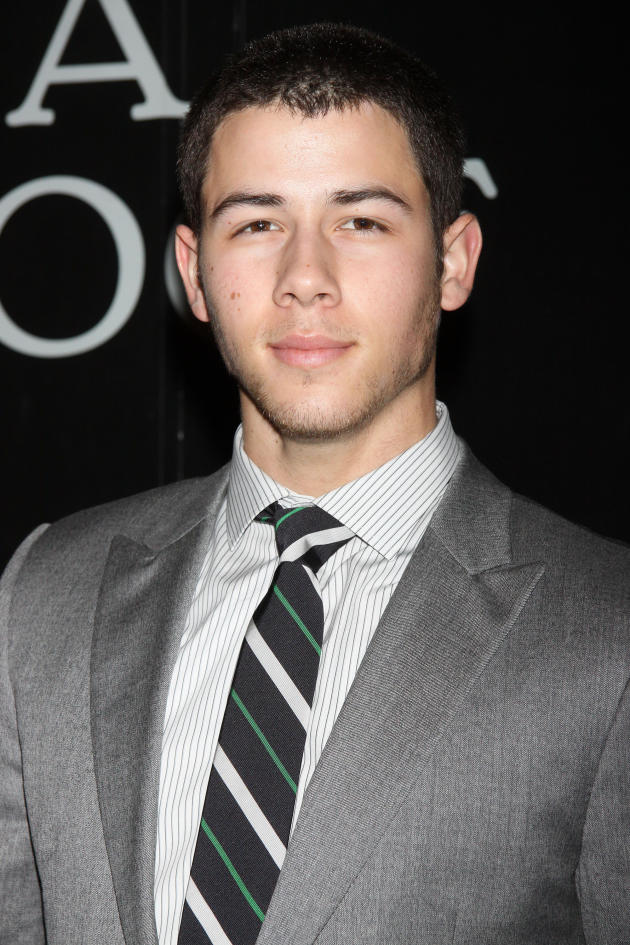Nick Jonas in a Suit