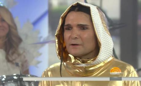 Corey Feldman Takes a Stand TODAY Show Performance