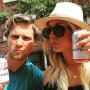Kaley Cuoco Drinks Budweiser
