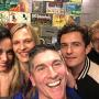 Katy Perry and Orlando Bloom backstage at a play in LA
