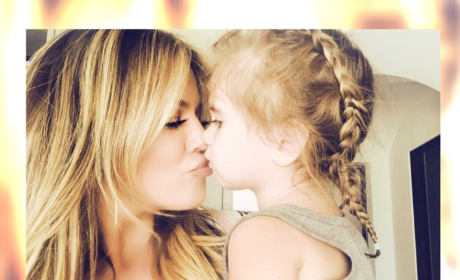 Khloe Kardashian Kuddles with Niece: Krazy Kute!