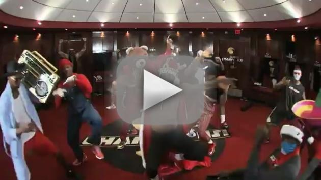 Miami Heat Harlem Shake Video