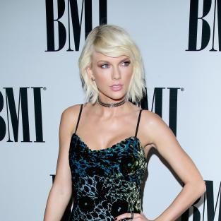 Taylor Swift at BMI Pop Awards